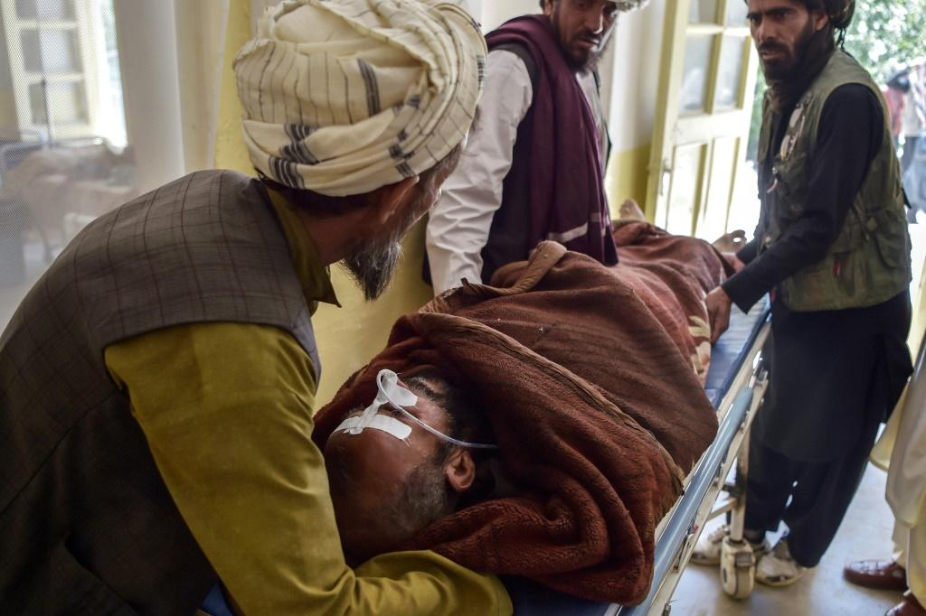 The Taliban claim that many civilians have been injured in bombings by government forces but both sides regularly accuse one another of rights violations