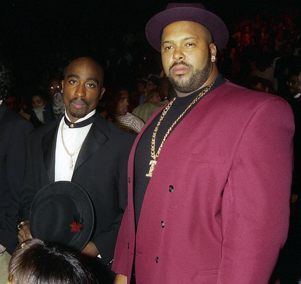 Tupac Shakur and Marion Suge Knight