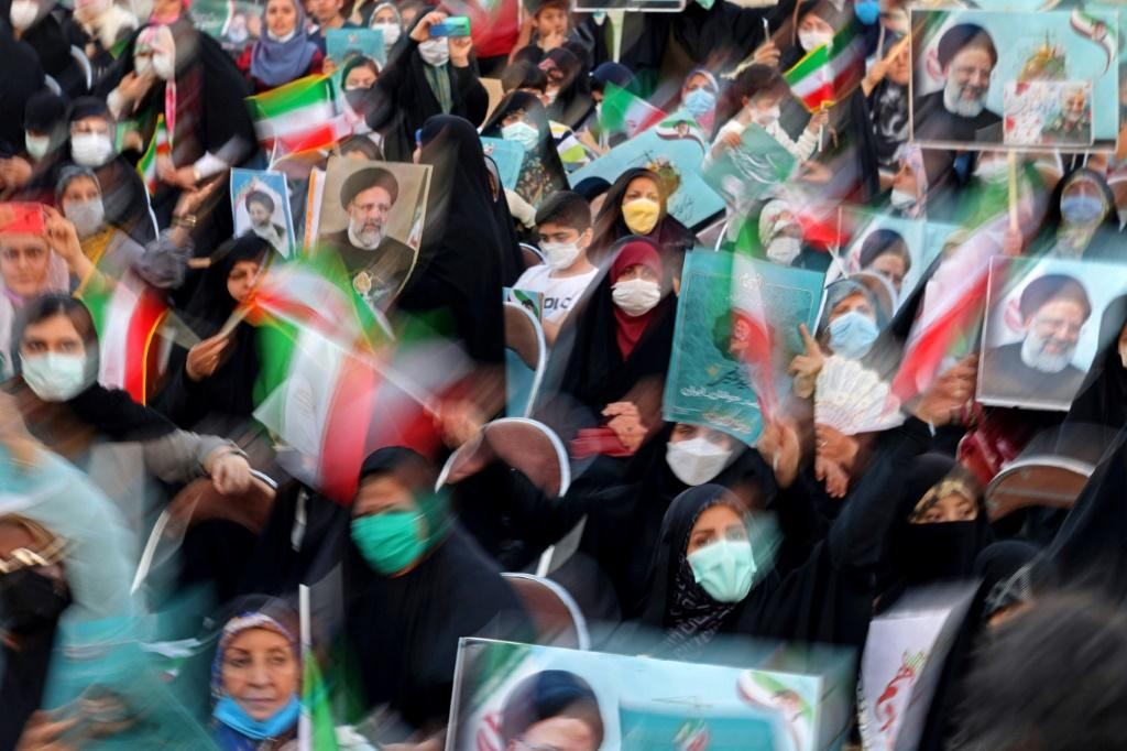 Ultraconservative candidate Ebrahim Raisi is seen as the runaway favourite to win the election