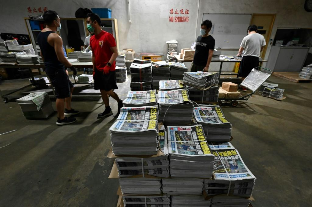 Beijing has made no secret of its desire to see the pro-democracy voice of Apple Daily tamed