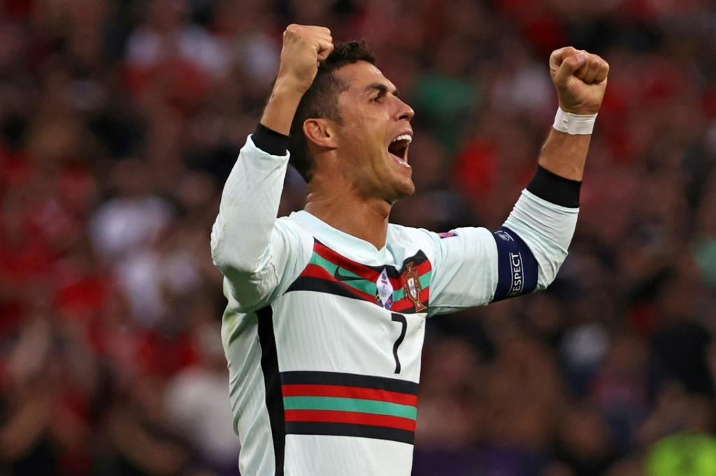 Cristiano Ronaldo now has a record 11 European Championship goals after his brace in Portugal's 3-0 win over Hungary