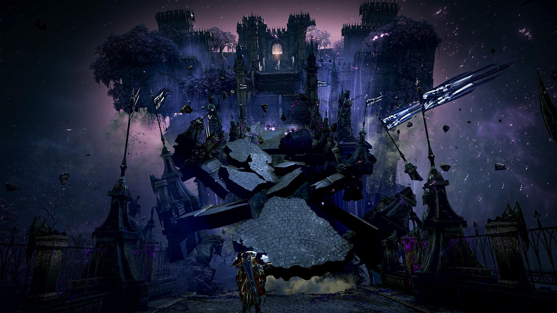 Lost Ark features a fantasy setting with gorgeous environments and broken realities