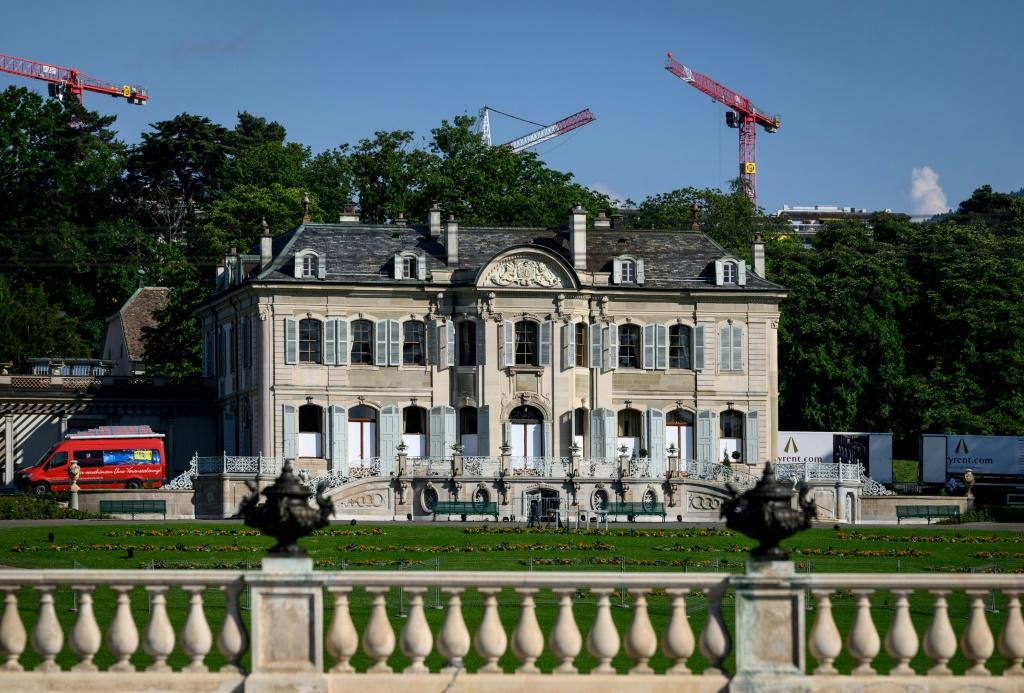 The leaders will meet at La Grange villa in Geneva, a plush 18th-century mansion surrounded by a tree-lined park