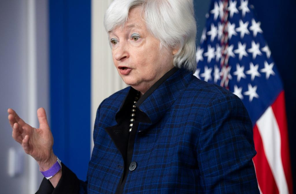 US Treasury Secretary Janet Yellen said debt payments will remain low for the next decade, offering an opportunity to make overdue investments