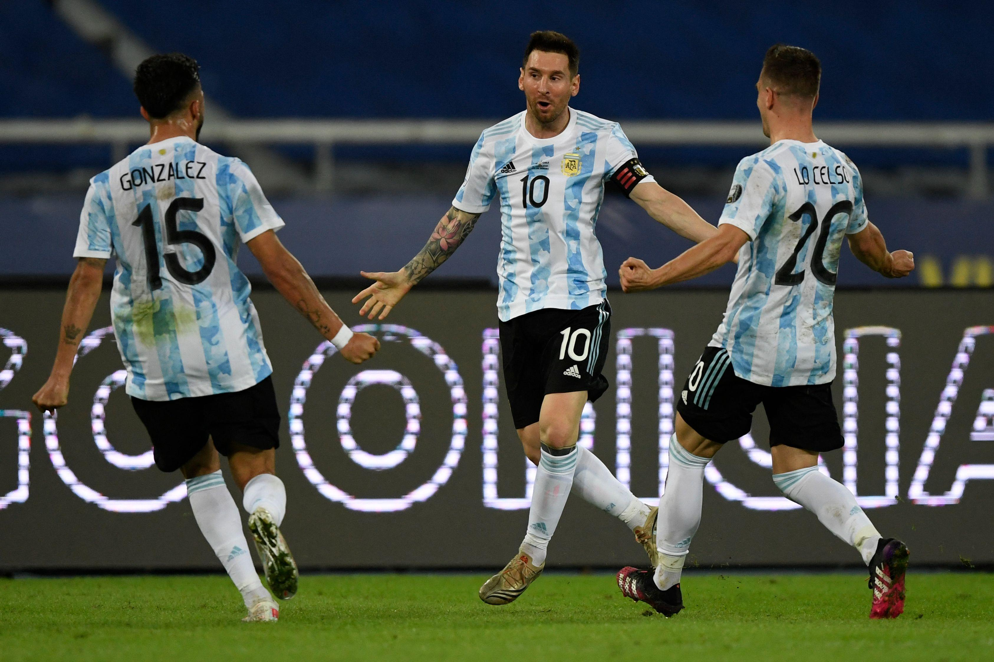 Copa America: Messi Hails Premier League Star As Argentina Beat Colombia
