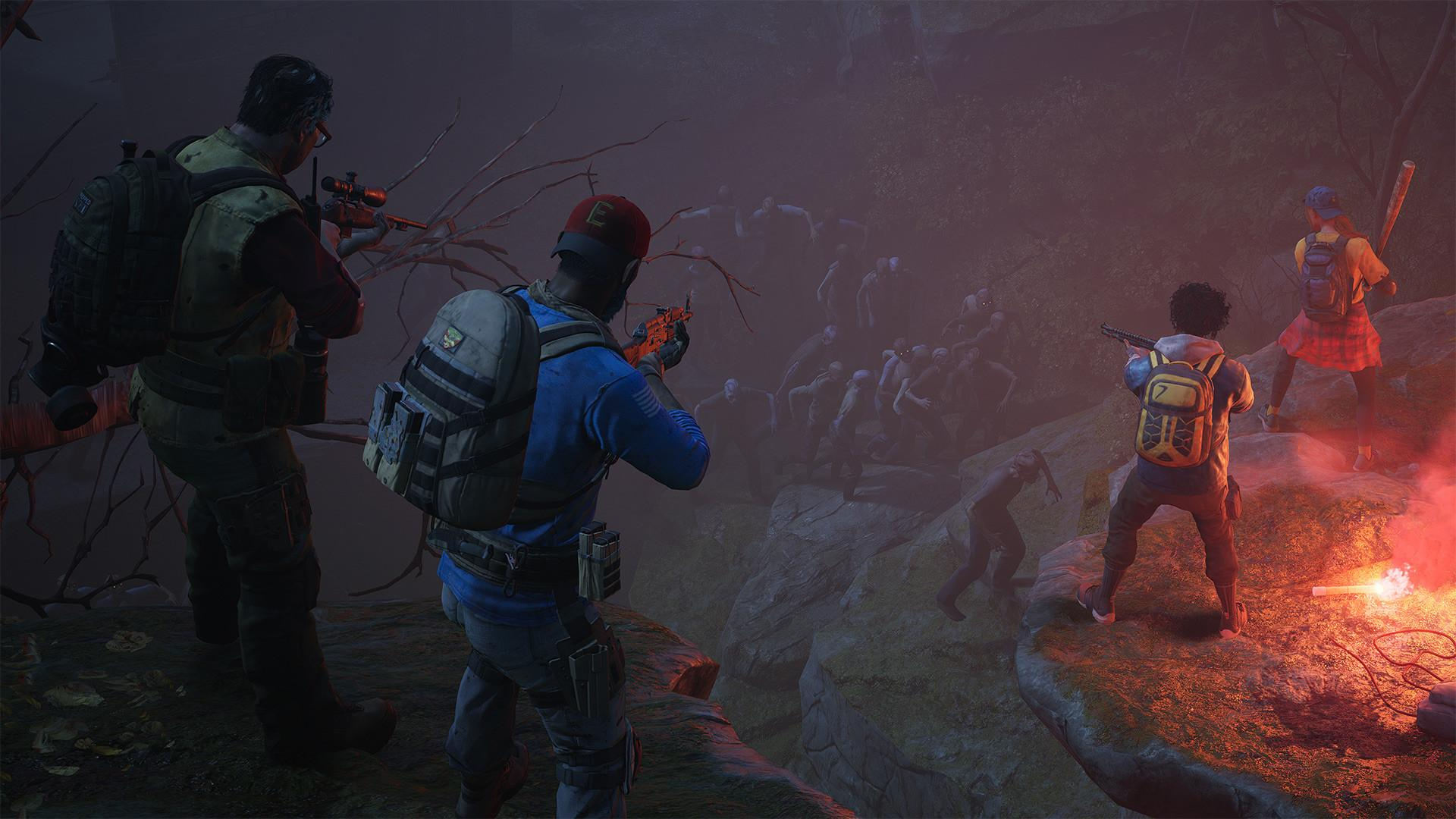 Back 4 Blood pits a squad of four players against an endless horde of parasite-infested zombies called The Ridden