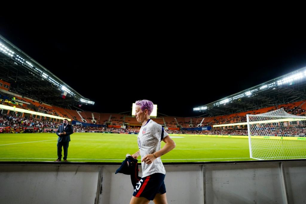 Megan Rapinoe, a two-time World Cup champion, has been the face of American women's soccer for nearly a decade