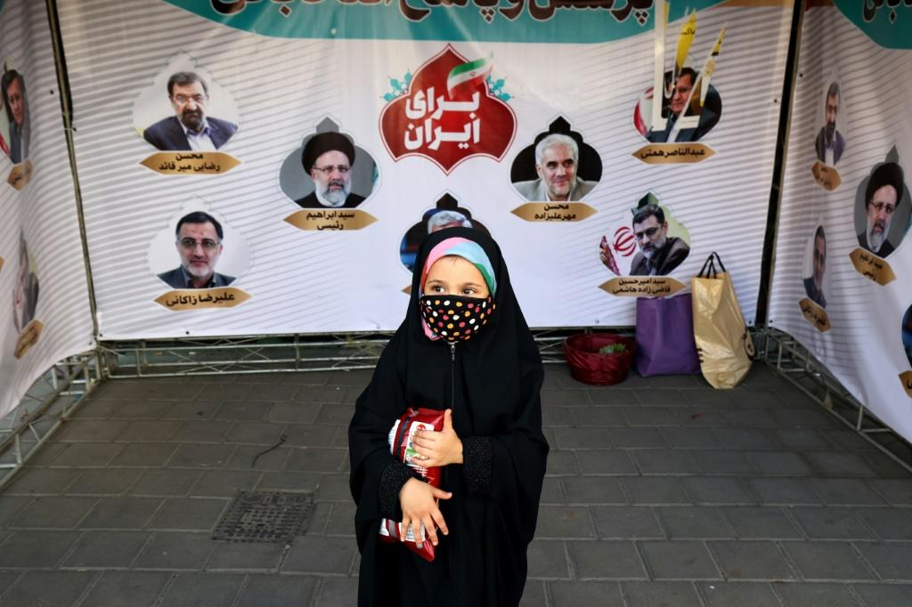 Out of an initial field of almost 600 hopefuls for the presidency, only seven, all men, were approved to run by Iran's Guardian Council but three of them have dropped out of the race on the eve of the election
