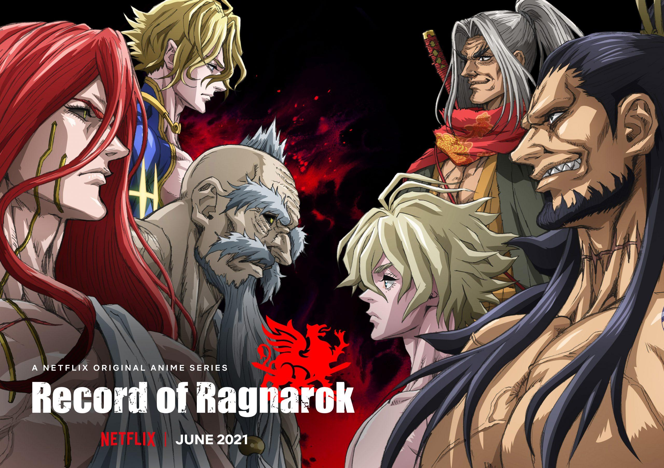 Records of Ragnarok promotional poster from Netflix