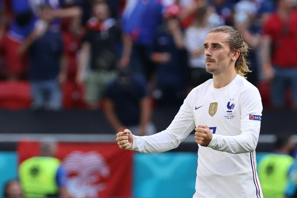 Antoine Griezmann's goal earned France a 1-1 draw with Hungary in Budapest