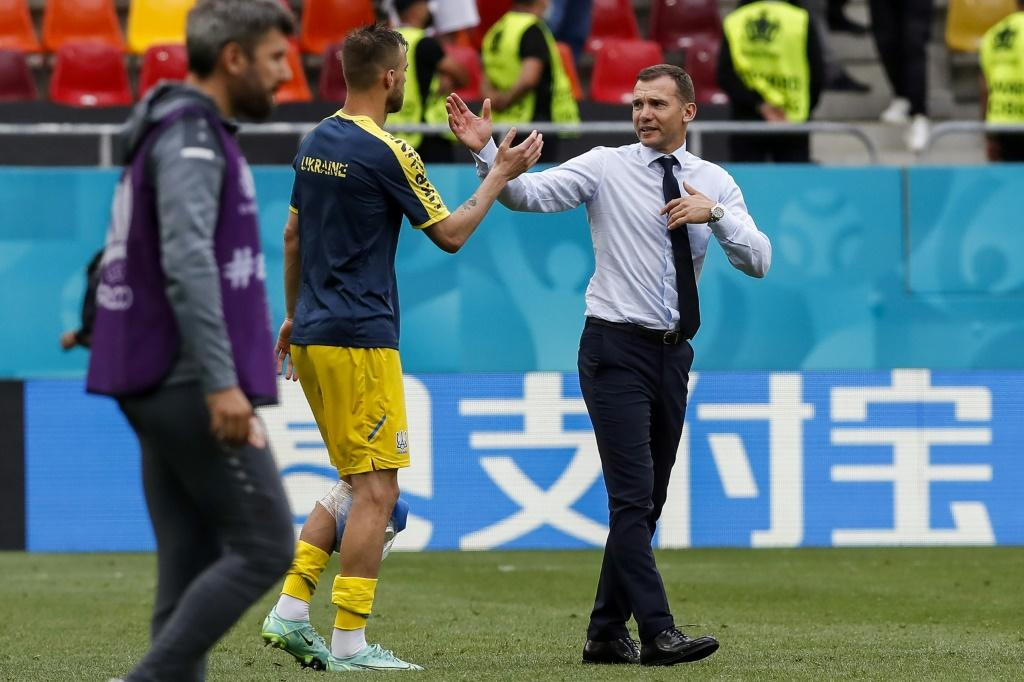 Shevchenko's Ukraine are bidding to reach the knockout stage for the first time