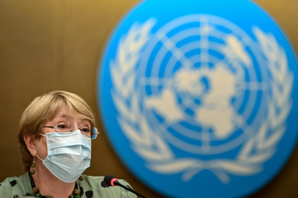Bachelet voiced deep concern about a number of country situations