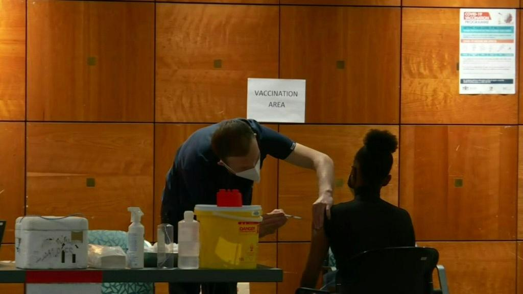 IMAGESResidents of Pretoria get vaccinated against Covid-19, as South Africa struggles with a third wave of infections. The country, the worst affected by the pandemic in Africa, has seen the daily figures for new cases double over the past two weeks, whi