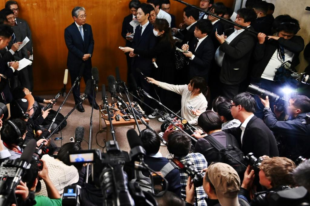 Japan's Olympic Committee president Tsunekazu Takeda announces he will step down after French authorities probed his involvement in payments made before Tokyo was awarded the 2020 Summer Games