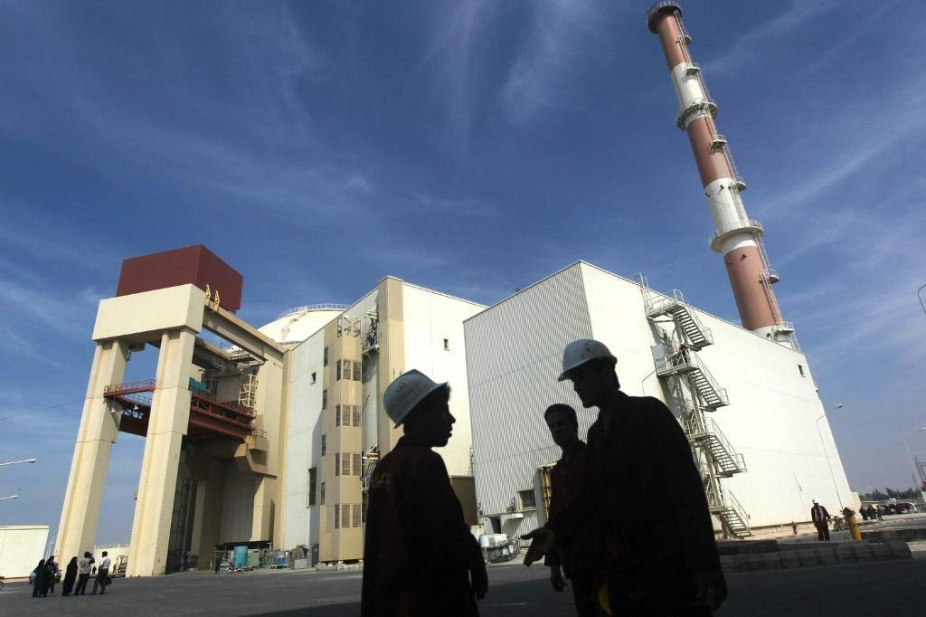 A file photo taken on October 26, 2010 shows the reactor building at the Russian-built Bushehr nuclear power plant in southern Iran