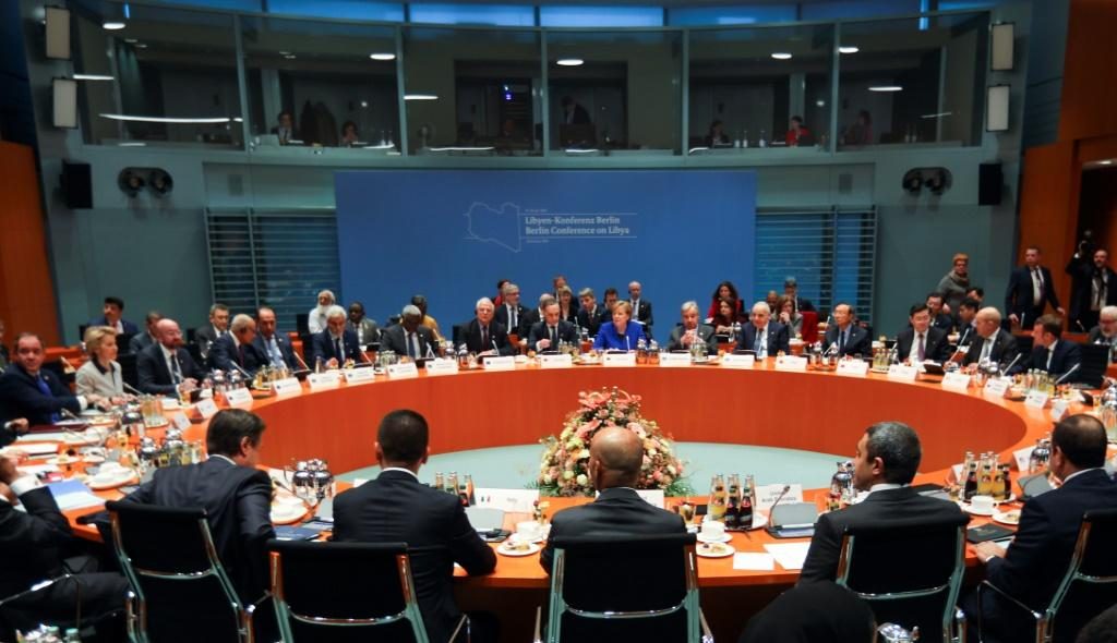 A first round of talks attended by the presidents of Turkey, Russia and France was held in January 2020, before the pandemic