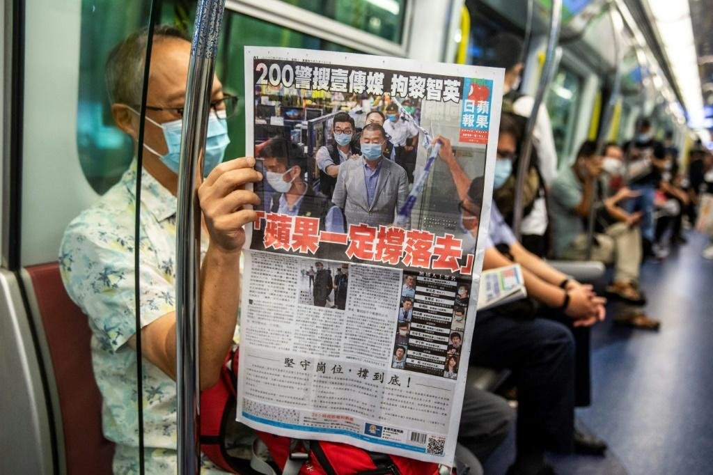 Apple Daily is facing imminent closure