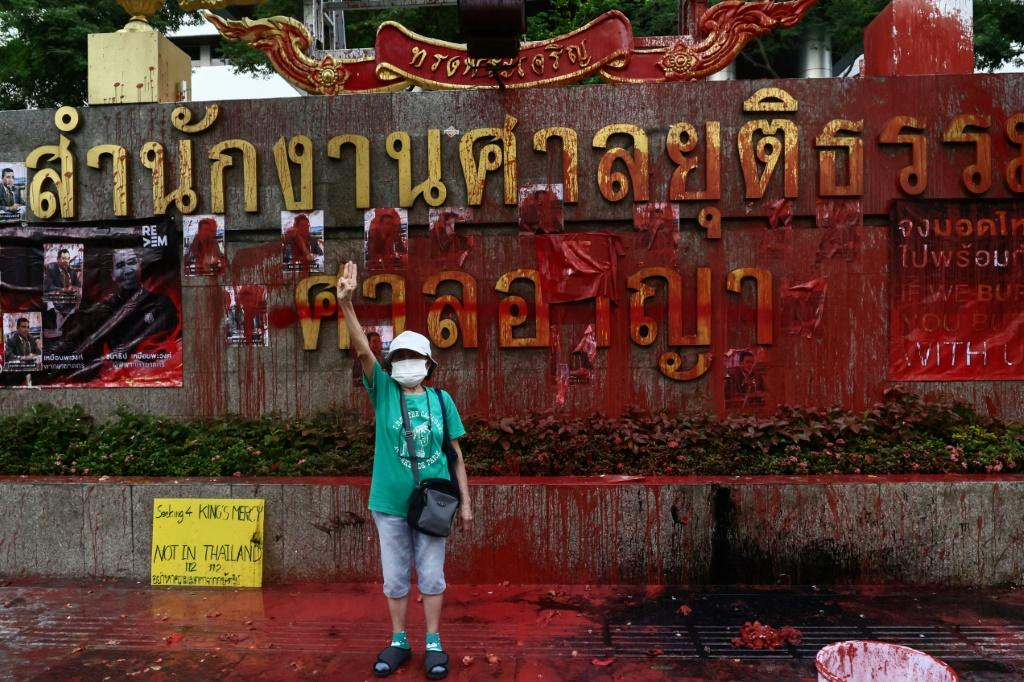 Pro-democracy protests rocked Thailand last year, with over 150 people charged under the country's tough royal defamation laws