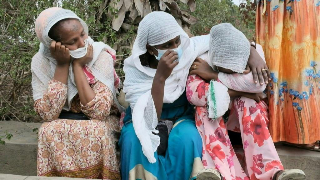 Tigray families wait for information after alleged airstrike on village outside Mekele