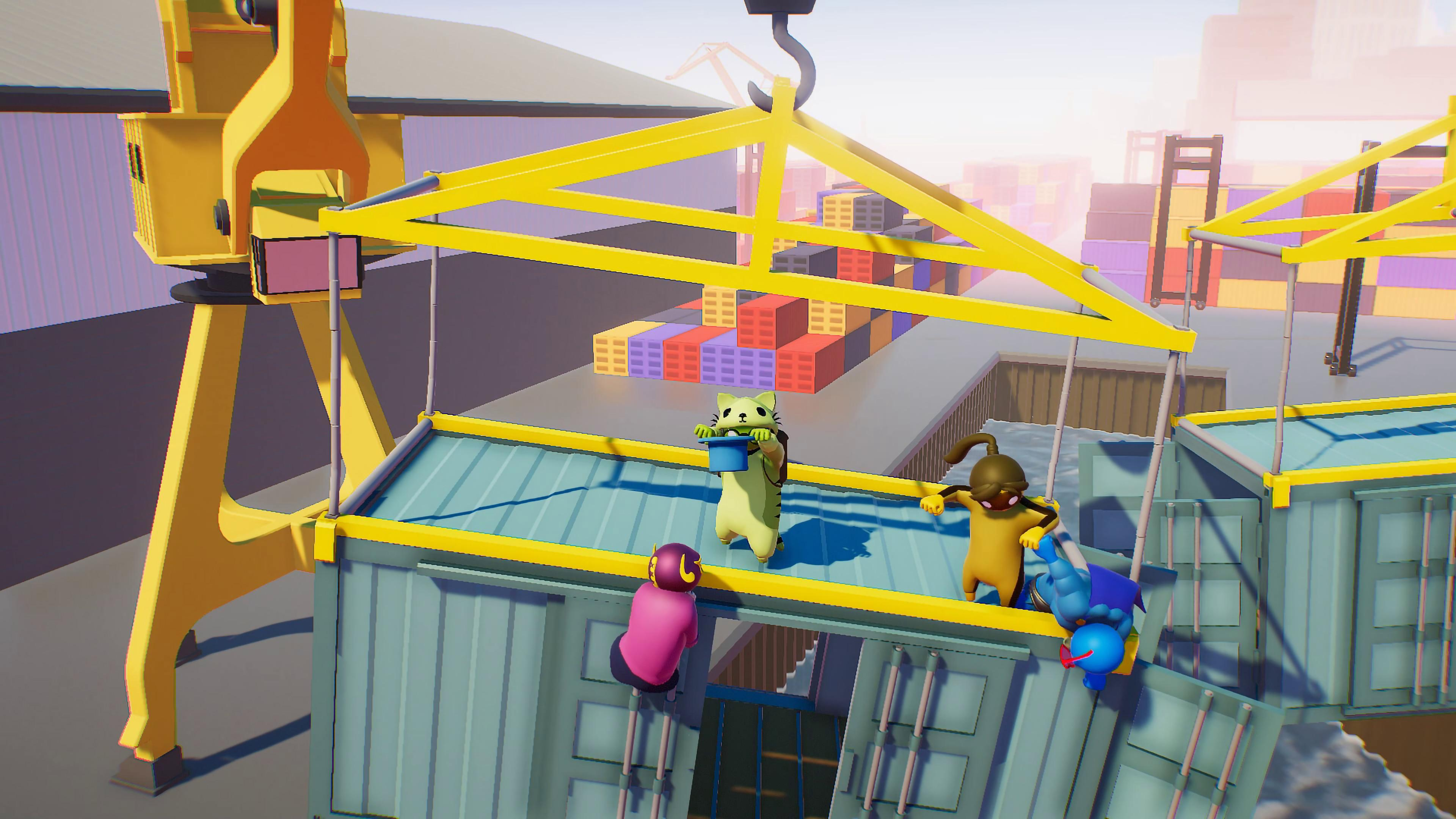 Gang Beasts is a fun and chaotic multiplayer brawler that's perfect for parties with friends