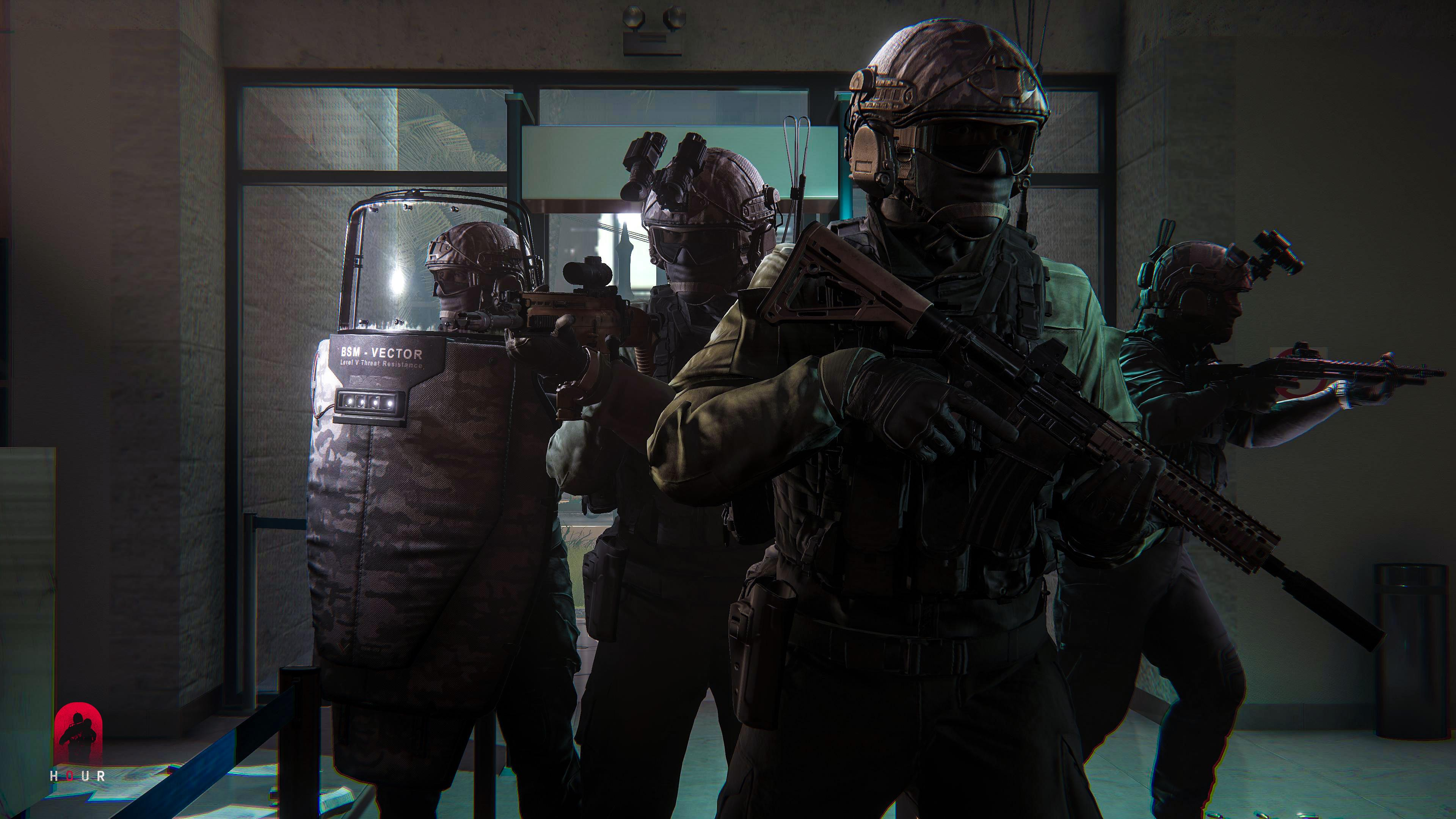Zero Hour offers intense CQB encounters in PvE and PvP scenarios