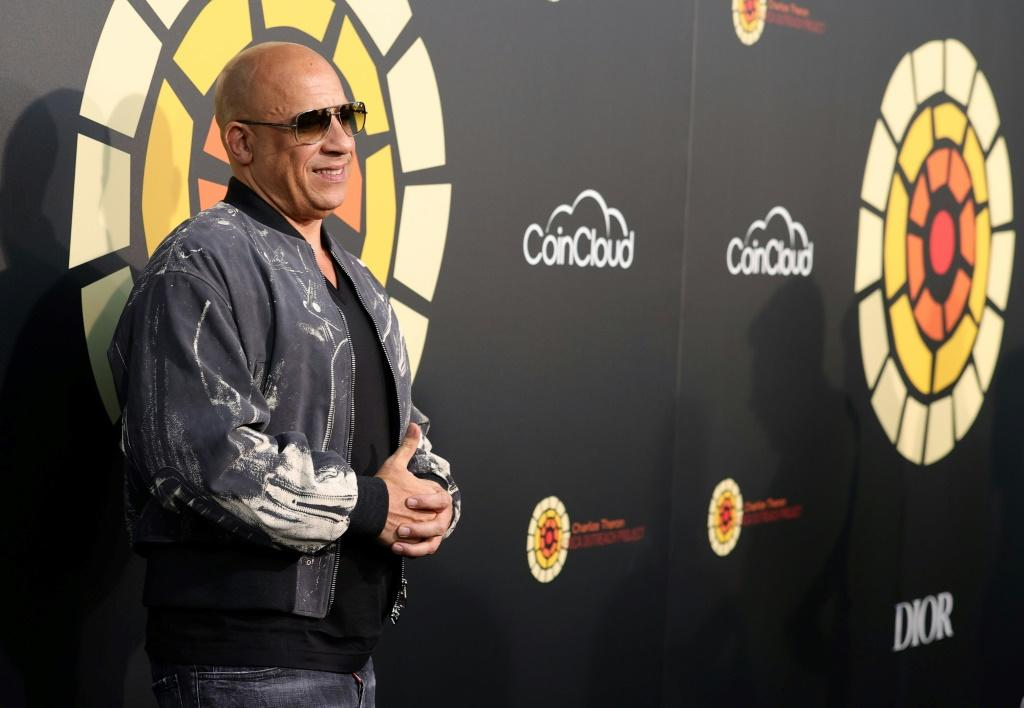 Vin Diesel, star of box-office-topping 'F9: The Fast Saga,' is seen at an event on June 26, 2021 in Universal City, California
