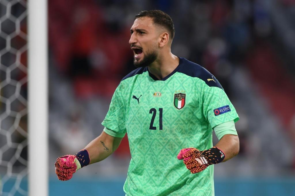 Gianluigi Donnarumma and Italy held on for a 2-1 win over Belgium in the quarter-finals