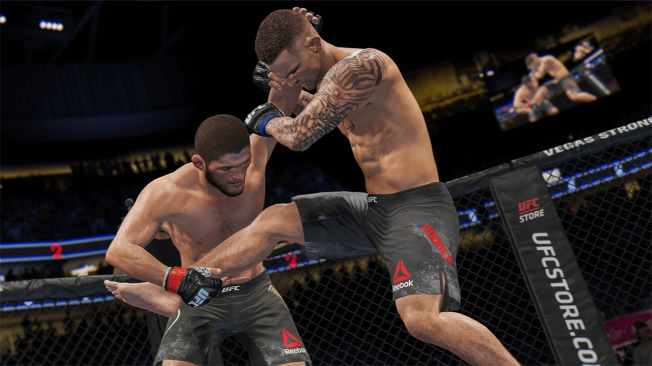 UFC 4 introduces several improvements over its predecessors, including a better grapple and takedown system