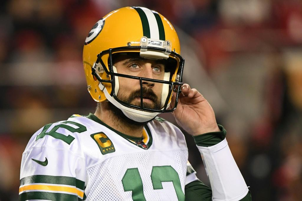 Aaron Rodgers says a good portion of his offseason from the NFL has been spent working on his mental health