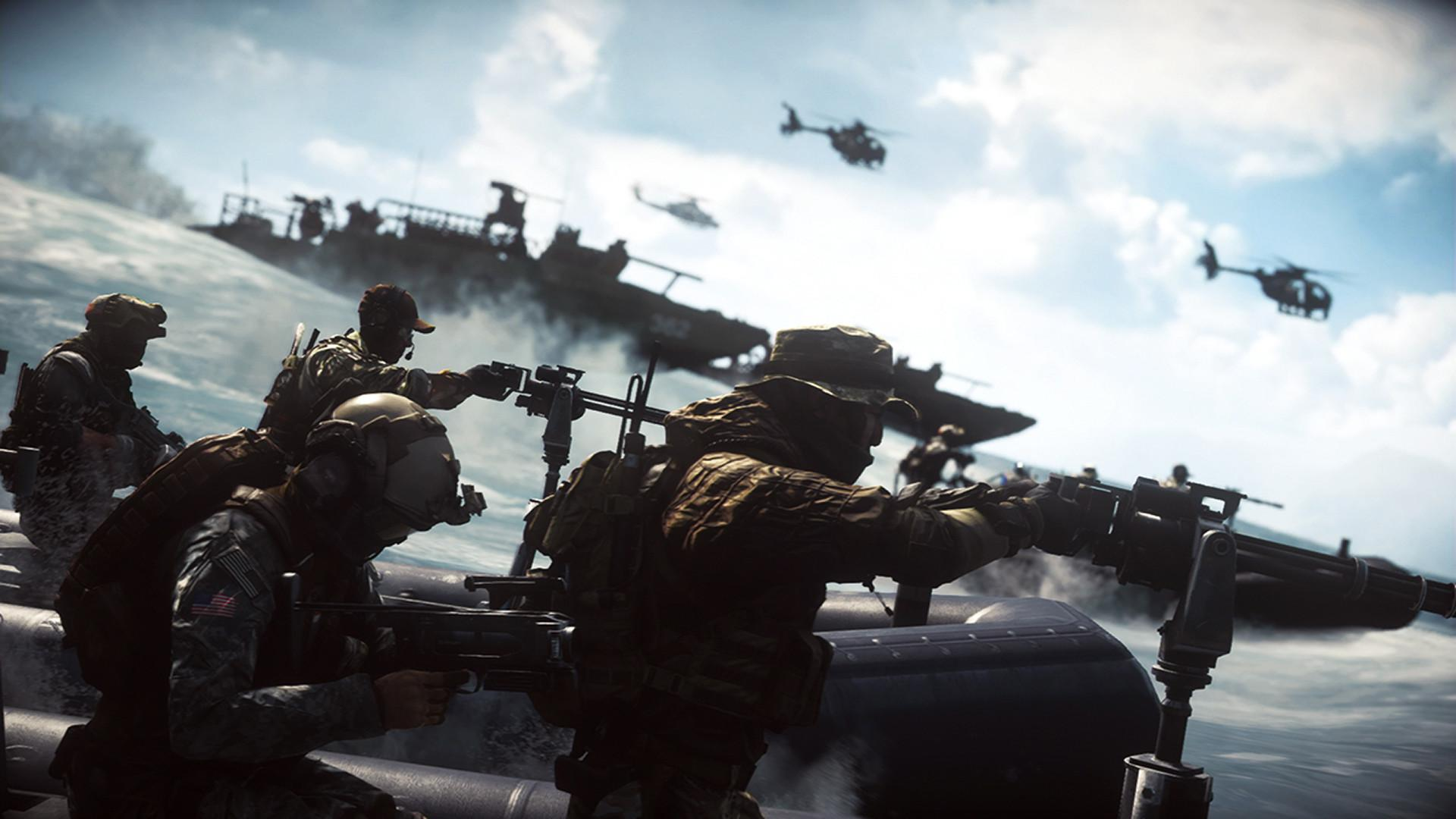 Battlefield 4 features combat in land, sea and air with a plethora of vehicles to choose from