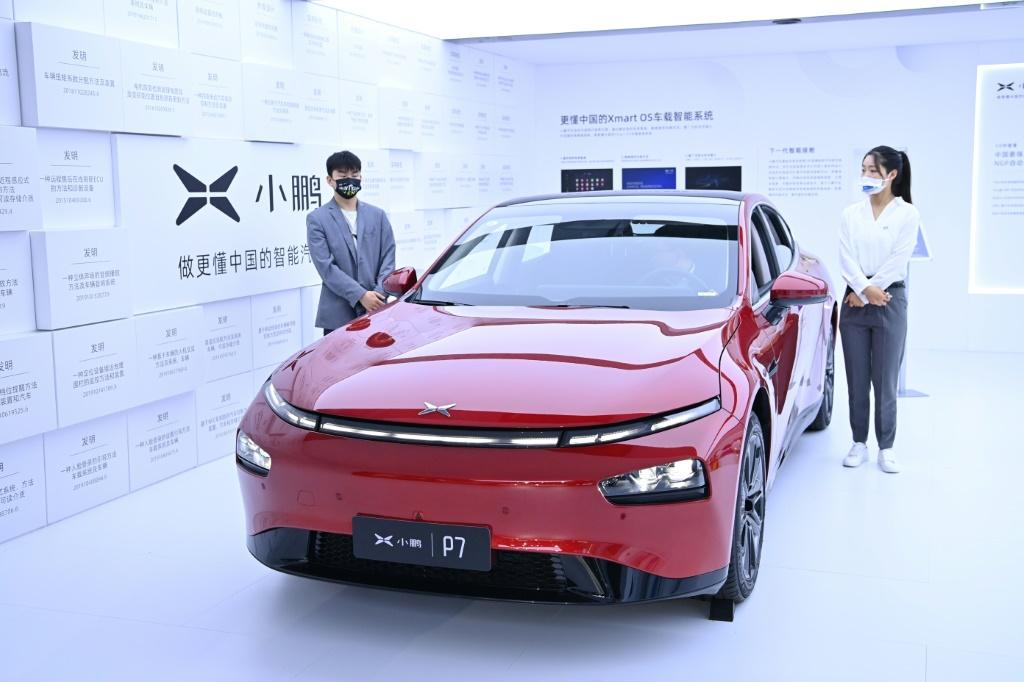 Electric car maker XPeng is chasing market leader Tesla in China