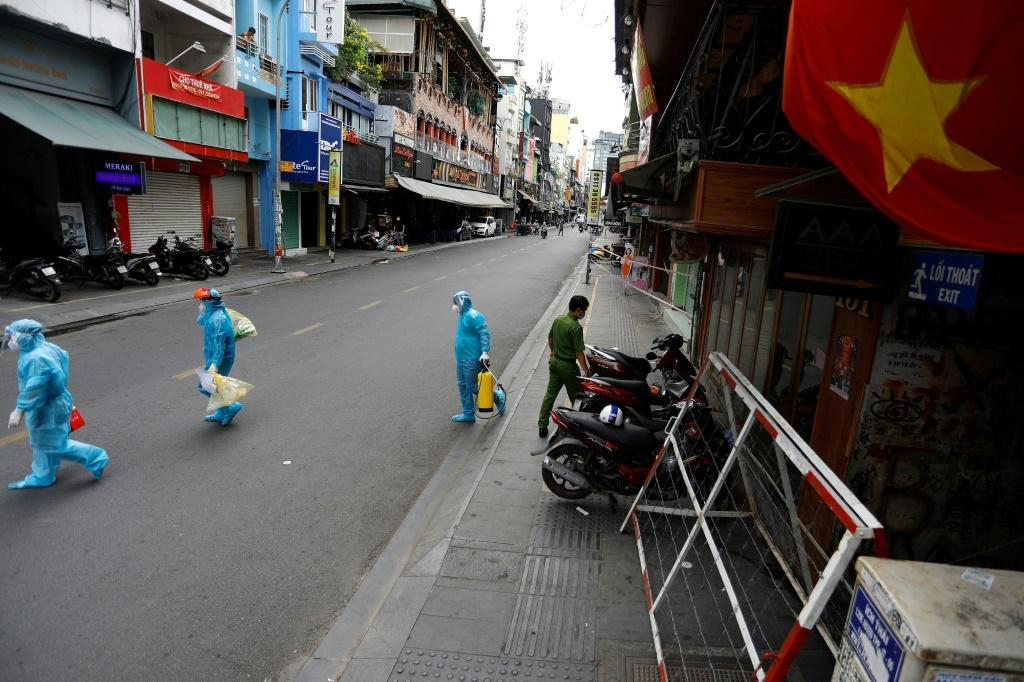 Ho Chi Minh City residents are now barred from gathering in groups larger than pairs in public