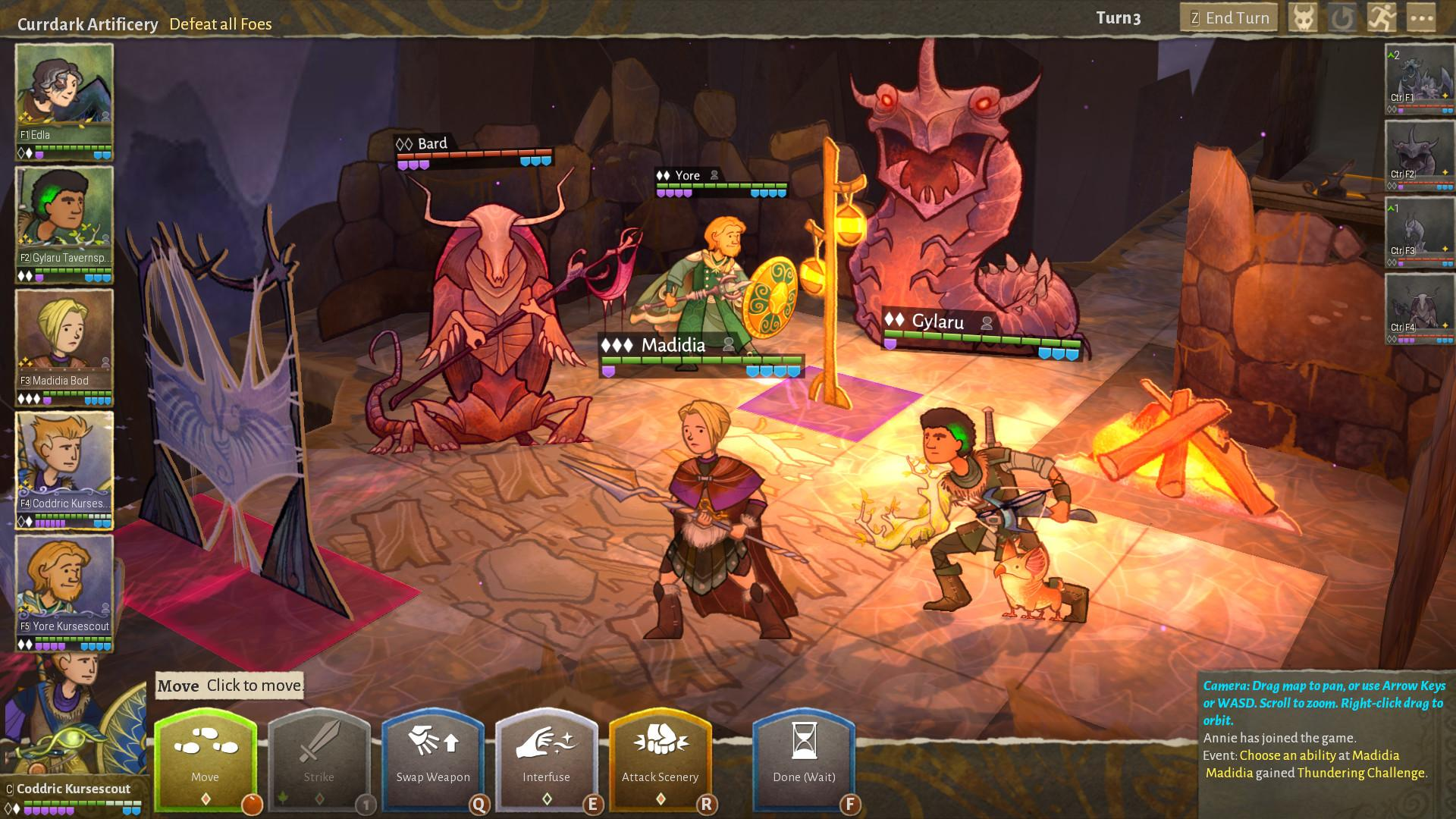 Wildermyth is a turn-based RPG that's heavily inspired by Dungeons and Dragons