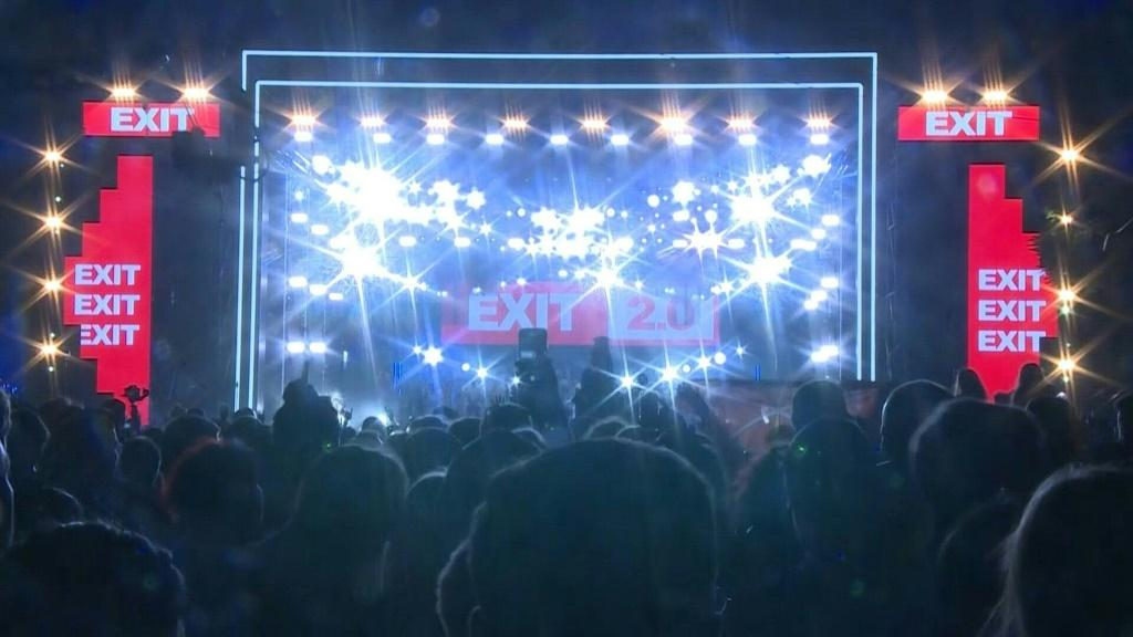 """Serbia's Exit Festival, one of Europe's biggest, is the first large festival to go ahead on the continent since the pandemic began. Organisers expect more than 160,000 people from dozens of countries to attend, saying the event will serve as a """"case stud"""