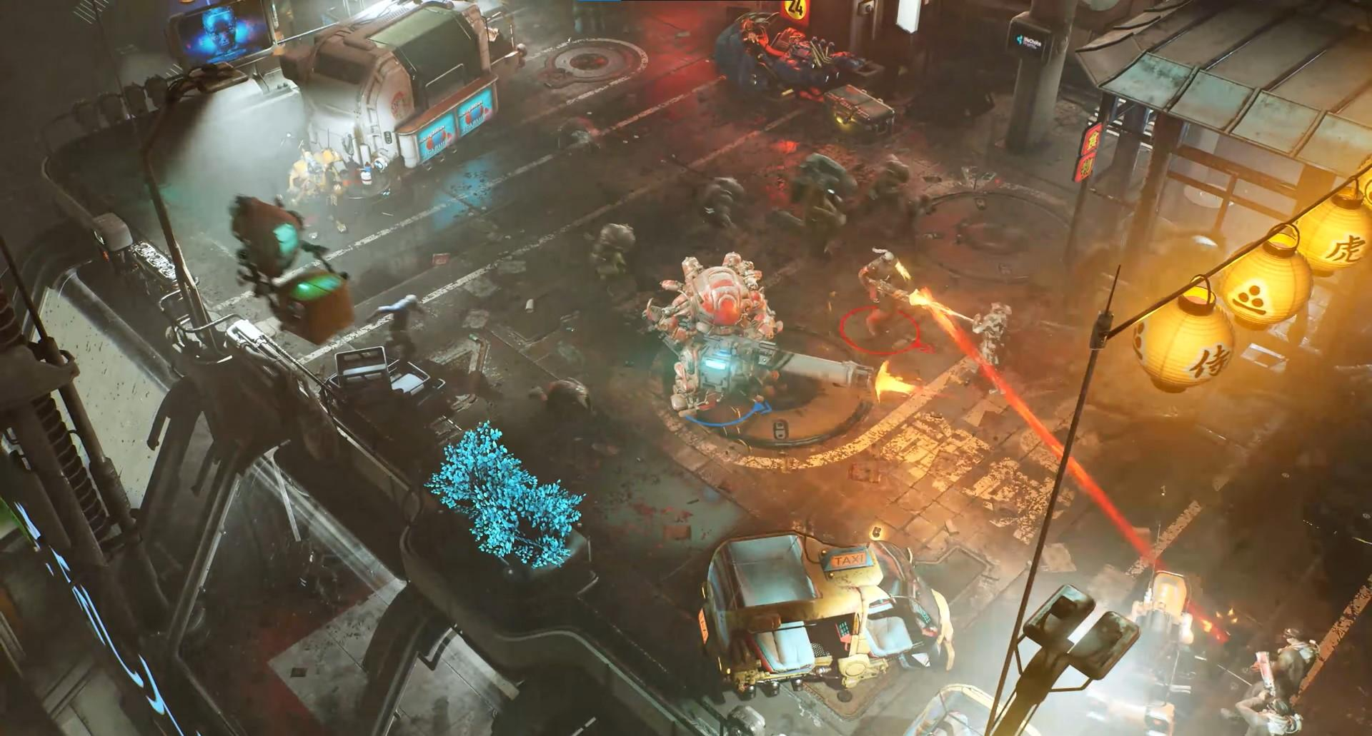 The Ascent is an action shooter RPG with in-depth character customization, cybernetic abilities and very big guns