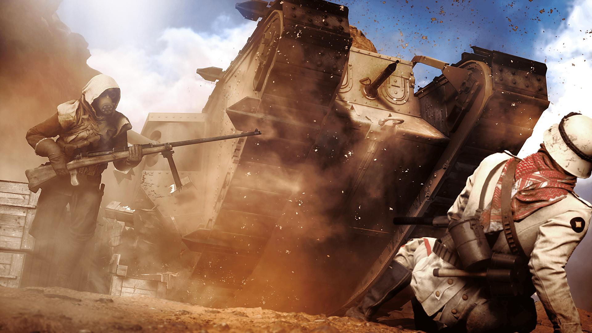Battlefield 1 paid special attention to historical accuracy, from the uniforms of each soldier to the arsenal of weapons, gadgets and vehicles