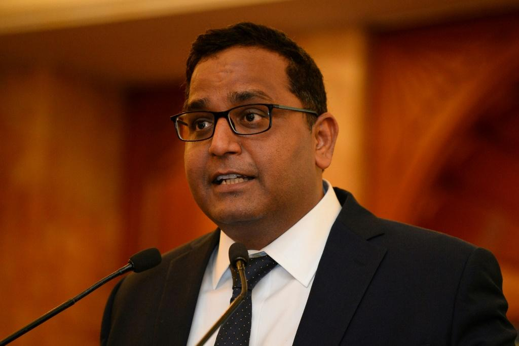 Paytm founder and chief executive Vijay Shekhar Sharma, who has a net worth of $2.3 billion according to Forbes, holds just under 10 percent of the company