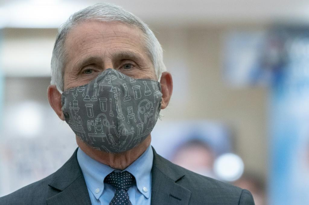 Top US disease expert Anthony Fauci