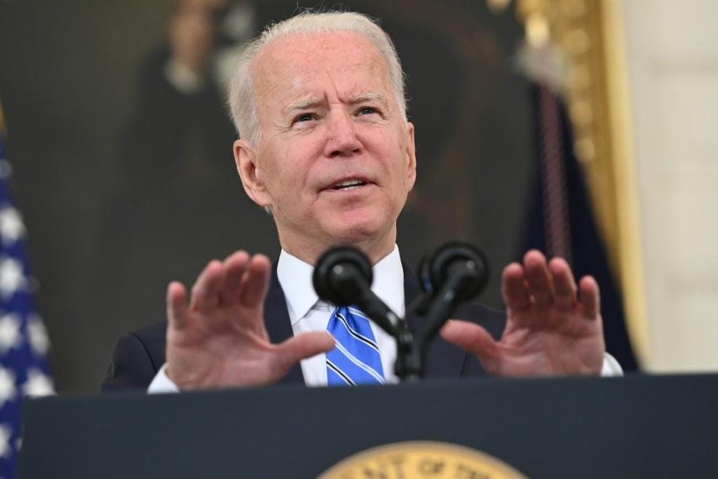 US President Joe Biden sought to allay fears about inflation, saying the price spikes hitting Americans in their pocketsbooks was just temporary and that the economy continued to improve