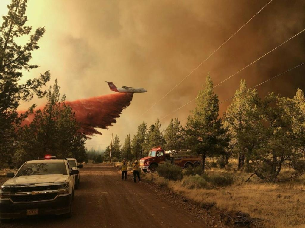 The Bootleg Fire in Oregon has scorched almost 390,000 acres -- an area bigger than Los Angeles