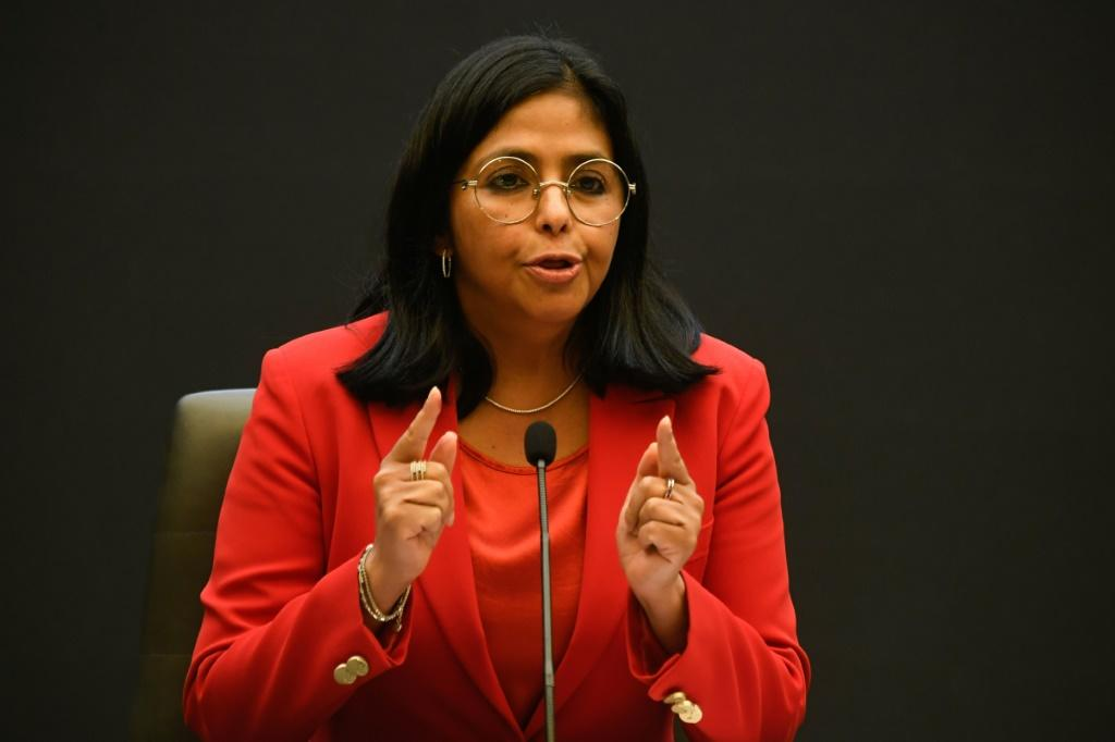 Venezuelan Vice President Delcy Rodriguez said the socialist government was 'girding for battle' over gold reserves held in the Bank of England