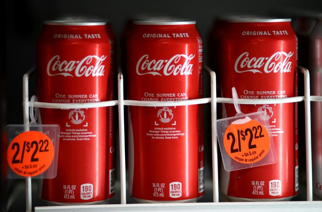 Coca-Cola shares fizzed after its second-quarter results topped expectations