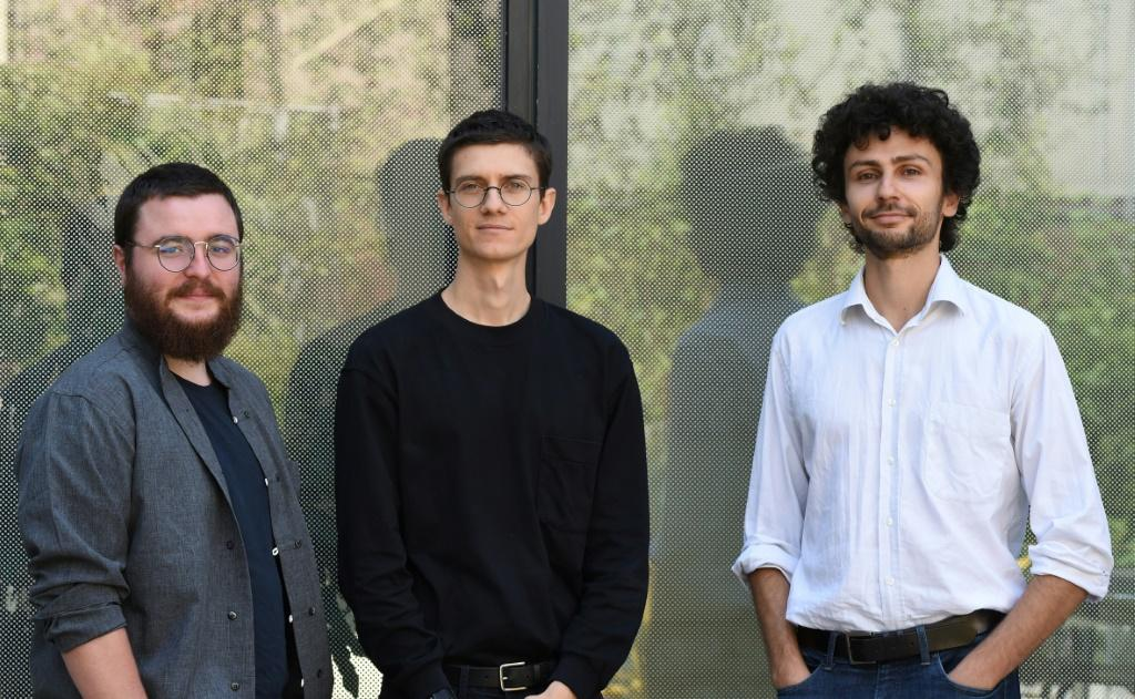 Gourmey founders Victor Sayous, Nicolas Morin-Forest and Antoine Davydoff