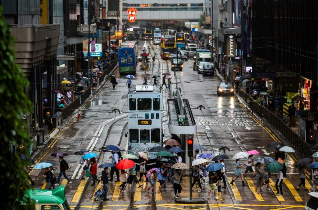 The arrests by Hong Kong's new national security police unit are the latest in a series of actions targeting dissent and changing the image of the city