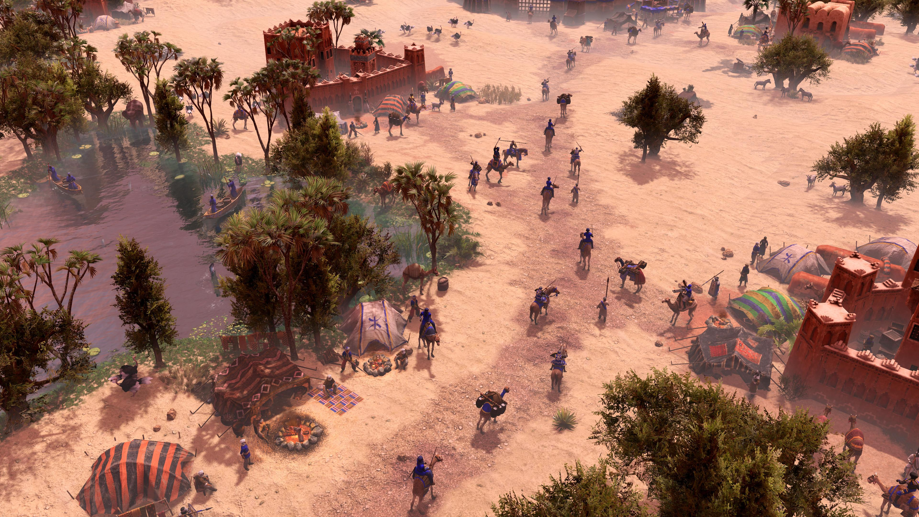 Age Of Empires 3 African Royals introduces two new civilizations to the game