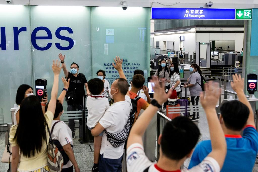 Around 1,500 Hong Kongers on average were leaving via the airport each day in July, up from around 800 for the first half of the year and despite the pandemic throttling international travel