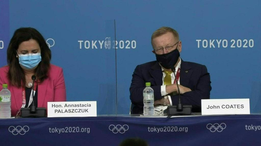 International Olympic Committee vice-president John Coates has sparked a backlash for publicly berating Queensland Premier Annastacia Palaszczuk over her plans not to attend the Tokyo Games opening ceremony.