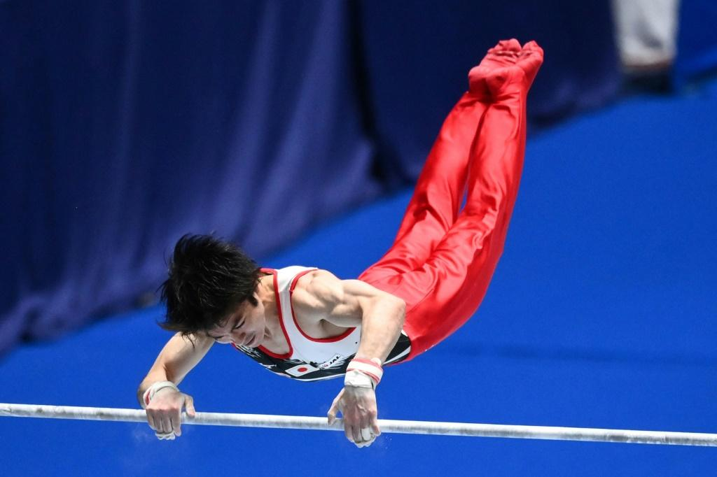Japanese star Kohei Uchimura is counting on the bar to provide him with a golden retirement