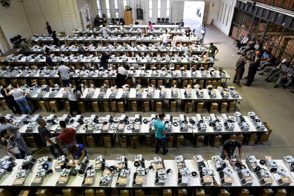 People in Brazil cast their ballots electronically at voting stations, and Bolsonaro has long been arguing for a paper printout to be made of each vote cast, suggesting the absence of a paper trail makes cheating easier