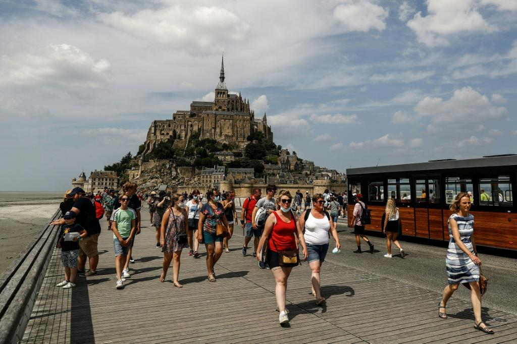 A return of tourism as pandemic restrictions have eased helped boost Europe's economic activity this month
